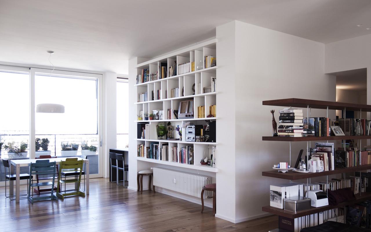 A06 ristrutturazione appartamento bologna matteo for Arredo luce bologna